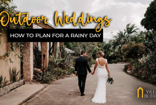 outdoor weddings for a rainy day
